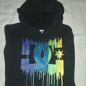 Medium. DC hoodie.